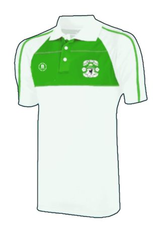 Greenfield Park FC Club Polo (White/Green)-0