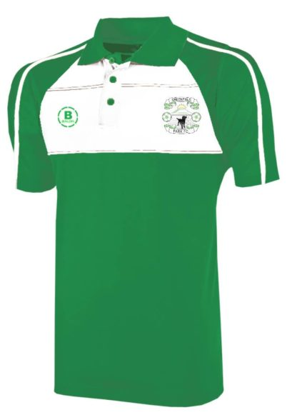 Greenfield Park FC Club Polo (Green/White)-0