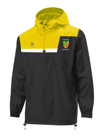 NEWBRIDGE HOTSPURS FC 1/4 Zip Shower Proof-0