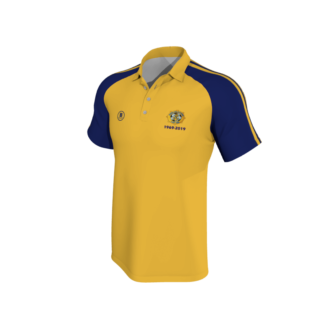 Rosslare Rangers AFC Polo Amber yellow -0