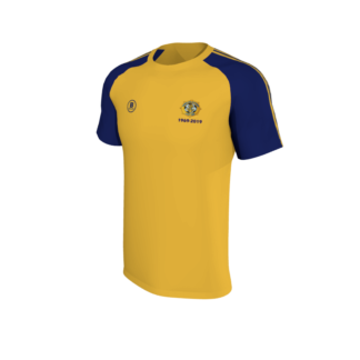 Rosslare Rangers AFC T Shirt Amber yellow-0