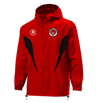 NEWTOWN JUNIORS FC 1/4 Zip Shower Proof -4823