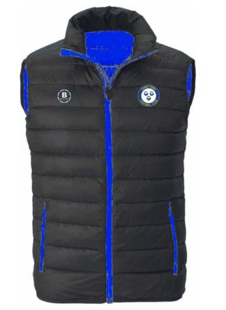 Ennis Town FC Gilet With Hood-0