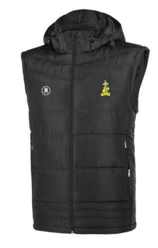 Tipperary Town Ladies FC/Schoolgirls Gilet With Hood-0
