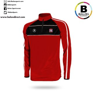 Ballyjamesduff AFC 1/4 zip Training Top-0