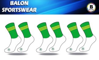 Duleek Bellewstown LGFA Midi elite Training socks 3 PACK -0