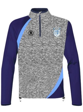 Rathkeale AFC Melange 1/4 Zip Training Top-0
