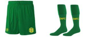 Dunboyne FC Match Short Stitch and Sew + Match Socks-0