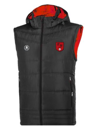 Bunratty United AFC Gilet With Hood-0