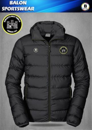 Newcastle West Town FC Puffer Jacket-0