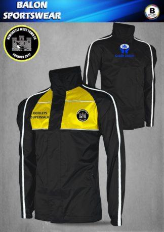 Newcastle West Town FC Elite Rain Jacket-0