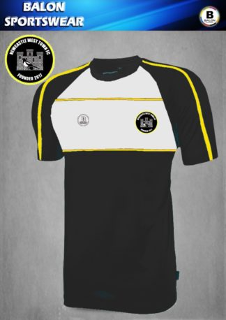 Newcastle West Town FC T Shirt-0