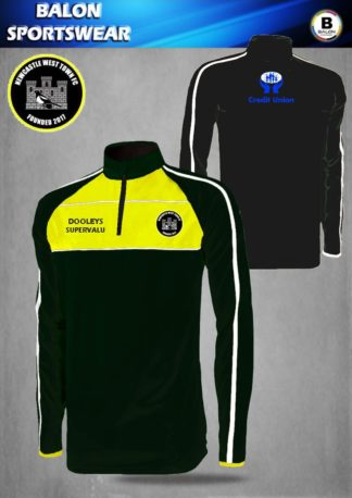 Newcastle West Town FC 1/4 Training Top-0