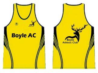 BOYLE ATHLETIC CLUB Sublimated Running Vest -0