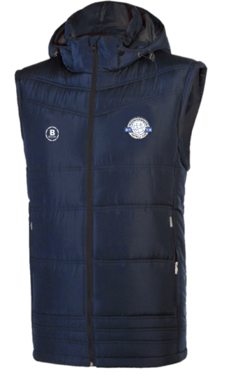 Aughrim Rangers FC Gilet With Hood-0