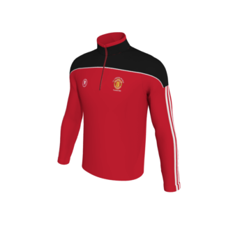 Manchester United Supporters Longford 1/4 Zip Training Top -0
