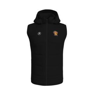 Manchester United Supporters Longford Gilet With Hood-0