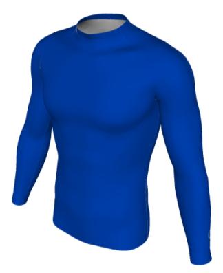 Carew Park FC Base Layer Blue -0