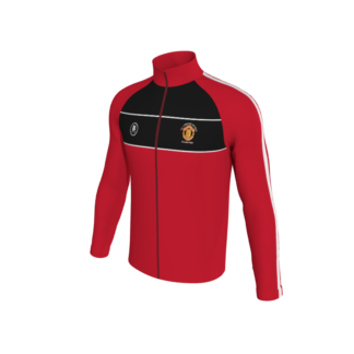 Manchester United Supporters Longford Presentation Tracksuit Top-0