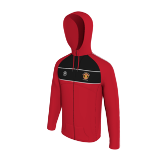 Manchester United Supporters Longford Full Zip Hoodie-0