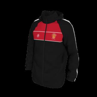 Manchester United Supporters Longford Elite Rain Jacket-0