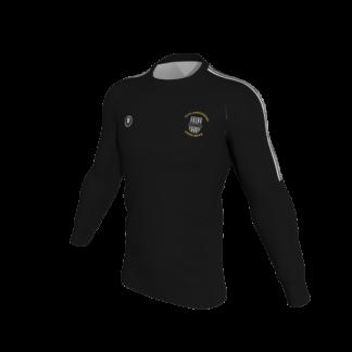 Raheny United Club Sweat Shirt Black / Black -0