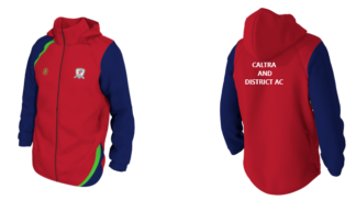CALTRA AND DISTRICT ATHLETIC CLUB Rainjacket