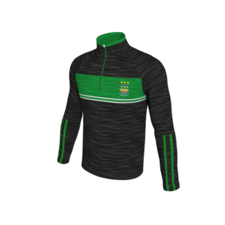 St Michaels AFC Melange 1/4 zip training top -0