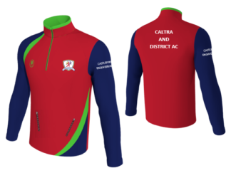 CALTRA AND DISTRICT ATHLETIC CLUB Zip Top with pockets -0