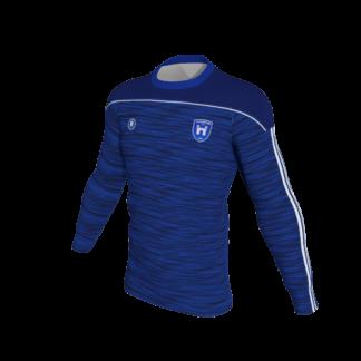 CUSHINSTOWN AFC Blue Melange Sweatshirt -0
