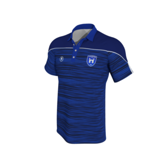 CUSHINSTOWN AFC Blue Melange Polo-0