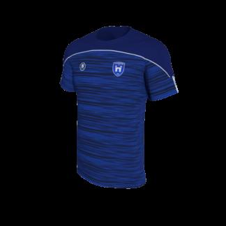CUSHINSTOWN AFC Blue Melange Training T shirt -0
