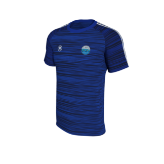 Carrick Town FC Melange T Shirt-0