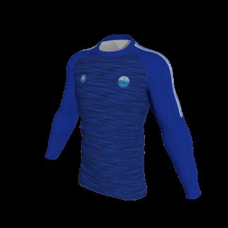Carrick Town FC Melange Sweatshirt BLUE-0