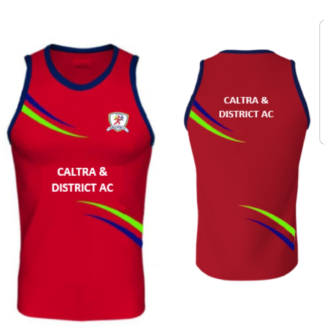 CALTRA AND DISTRICT ATHLETIC CLUB Sublimated Vest -0