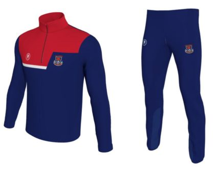 Kilbrittain National School 1/4 Zip Training Top & Tight pant -0