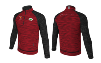 Newmarket Pitch and Putt Melange 1/4 Zip Training Top With Pockets Micro Fleece-0