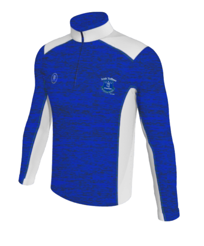 Irish Toffees Melange 1/4 Zip Training Top Velocity Range -0