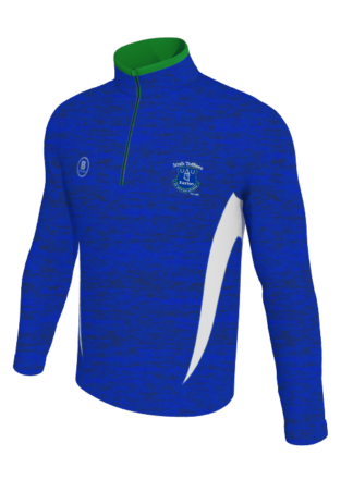 Irish Toffees Melange 1/4 Zip Training Top Speed range -0