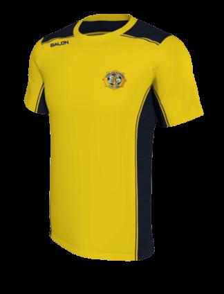 Rosslare Rangers AFC Chritsmas t shirt amber -0