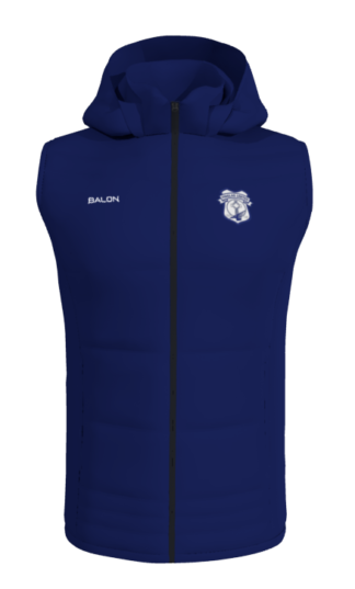 Finglas United Gilet With Hood-0