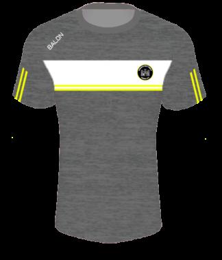 Newcastle West Town FC Melange T Shirt-0