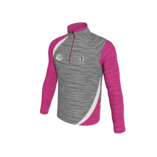 Boyle Camogie Melange 1/4 Zip Training Top Ultra -0