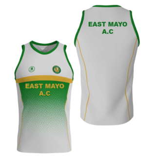 East Mayo AC Sublimated Running Vest -0